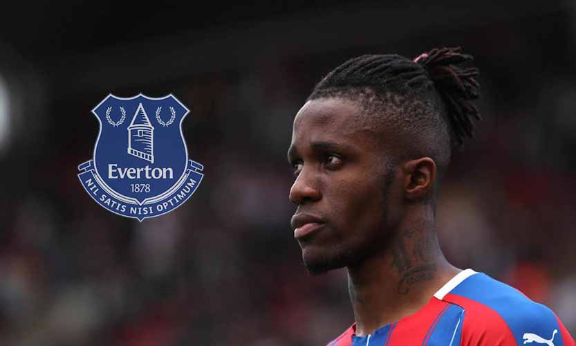 Wilfried Zaha Everton